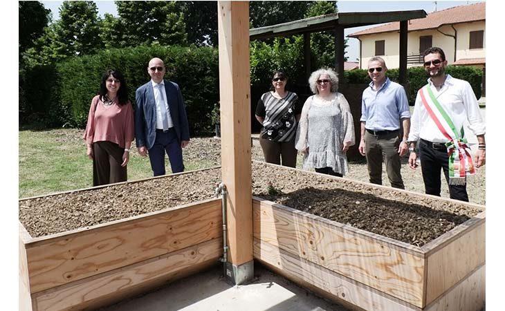 Orti rialzati coltivabili anche da persone disabili a Toscanella