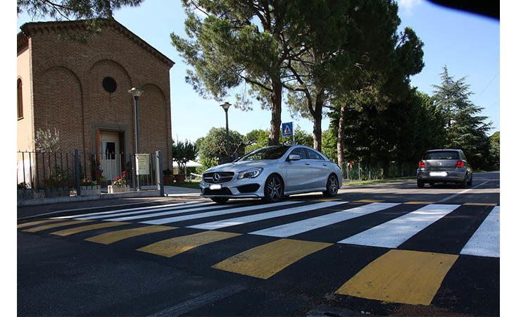 In via Pasquala è stato realizzato il dosso per ridurre la velocità come chiesto dai cittadini