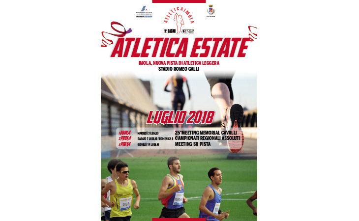 «Atletica Estate», domani al Romeo Galli la prima prova dell'evento clou di luglio