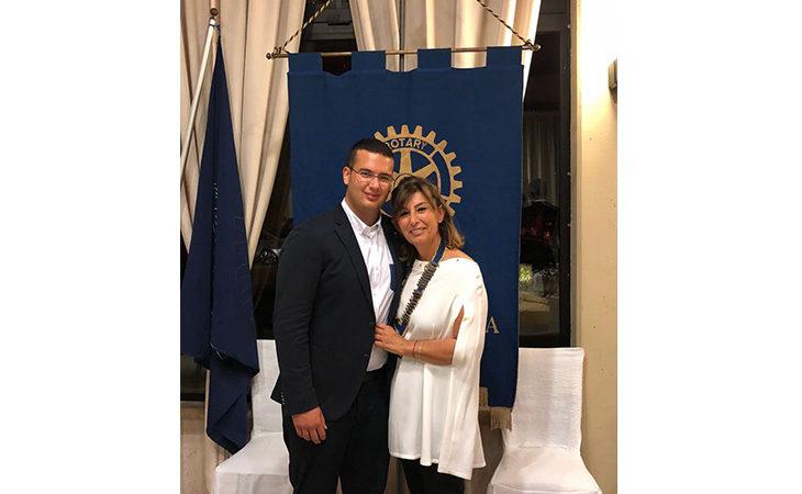 Barbara Loreti è la prima presidente donna nella storia del Rotary Club di Imola