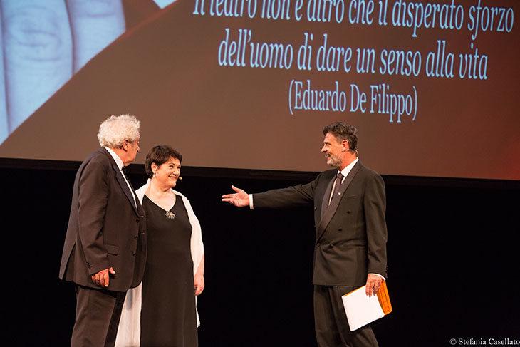 Ginetta Fino e Pino Mainieri, attori castellani in onda questa sera su Tv2000