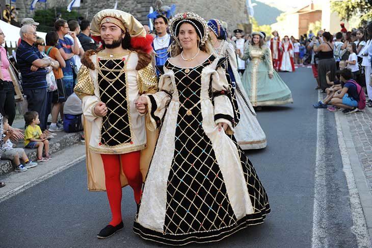 A Castel del Rio il weekend porta nel passato con le Feste rinascimentali