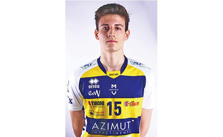 Il giovane pallavolista medicinese Giovanni Sanguinetti convocato per gli Europei U20