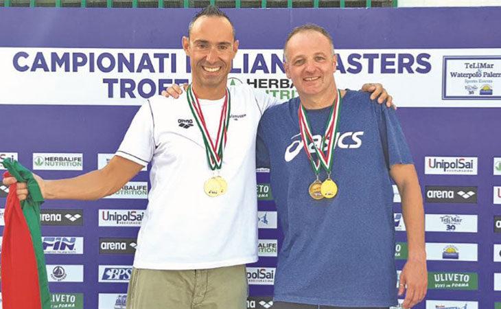 Tre titoli italiani per l'Imolanuoto Master a Palermo con Busignani e la doppietta di Terziari