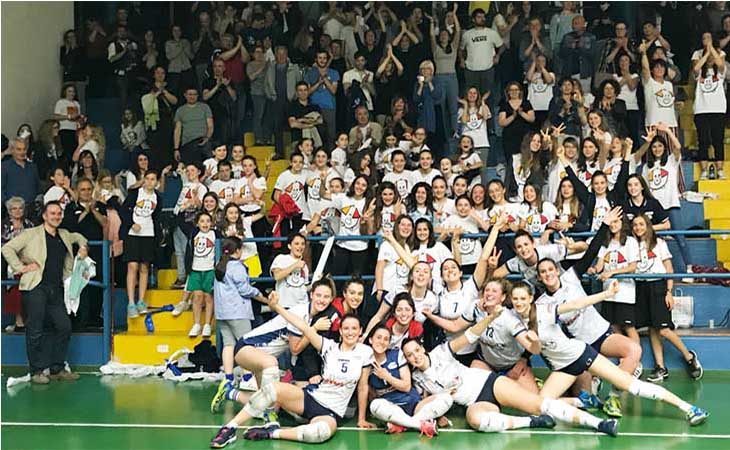 Pallavolo B2 femminile, ufficiale il girone della Csi Clai Imola