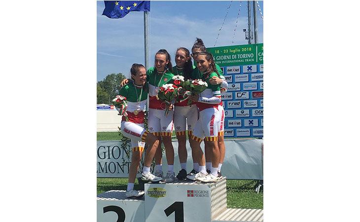 Ciclismo su pista, oro per Alessia Patuelli nell'inseguimento a squadre Allieve