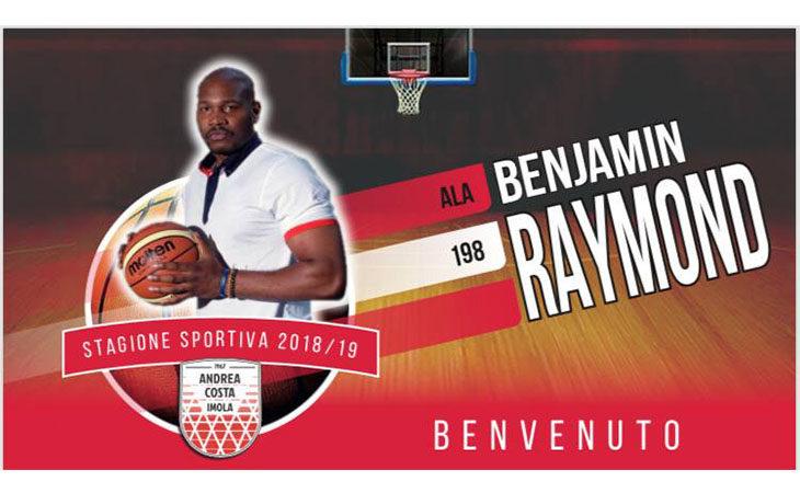 Basket A2, l'Andrea Costa chiude il mercato con il botto e ingaggia Benjamin Raymond
