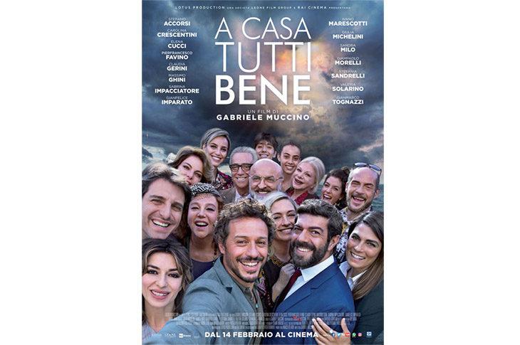 Al cinema alla Rocca arriva la famiglia secondo Muccino con Accorsi e Favino in «A casa tutti bene»