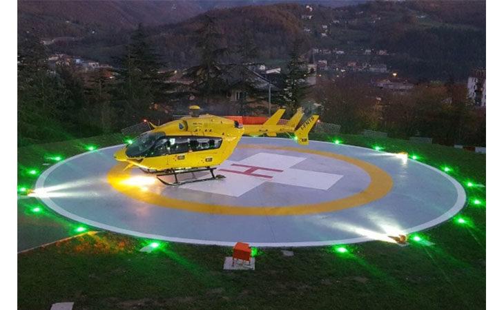 E' entrato in servizio il nuovo elisoccorso con visori speciali per rafforzare il sistema di intervento sul territorio