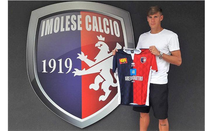 Calcio serie C, Raul Zucchetti è un nuovo difensore dell'Imolese
