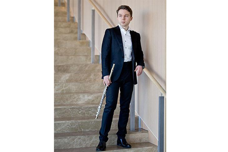 Il talento del flautista Marinesku a Borgo Tossignano per l'Erf
