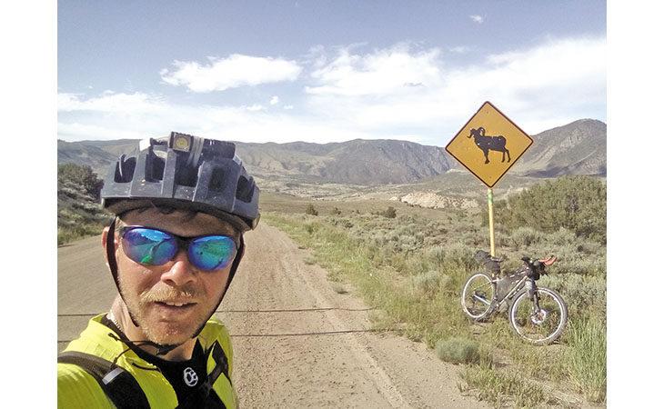 Il medicinese Stefano Romualdi racconta la sua avventura americana in mountain bike al «Great Divide»