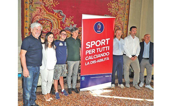 Sport e disabilità, il progetto della scuola calcio Cerè sbarca a Zolino insieme al Bologna Fc 1909