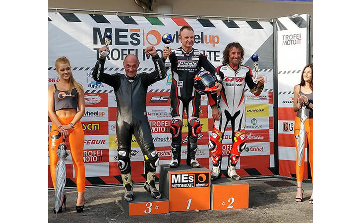 Valter Bartolini secondo a Varano e sul posto d'onore anche nella classifica finale del «Trofeo Mes»