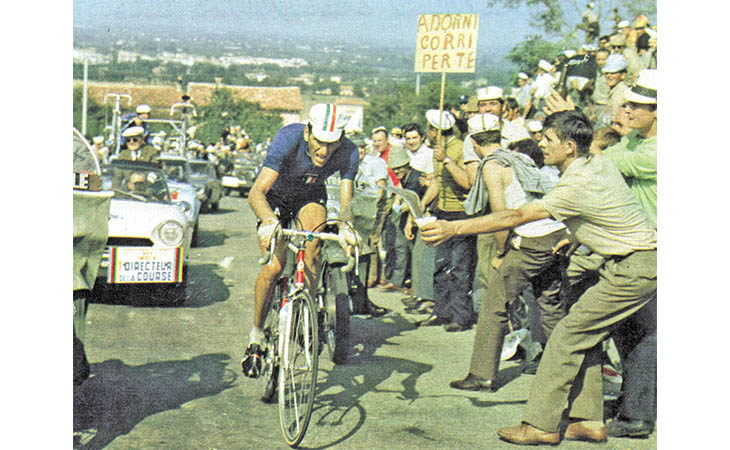 Imola si prepara a celebrare Vittorio Adorni e i 50 anni del Mondiale '68 di ciclismo