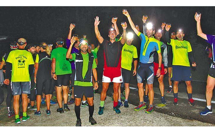 Alla «Dolce Night Run» 74 atleti e c'era pure Gianluca Galeati tra i 14 km e la… birra