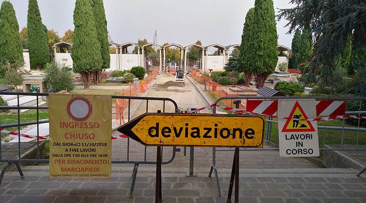 Bagni, puntelli, impermeabilizzazioni e piccioni con i 220 mila euro per gli interventi urgenti nei cimiteri