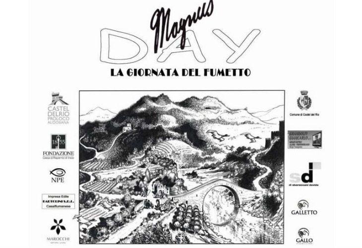 Oggi torna a Castel del Rio il Magnus Day, una giornata dedicata al fumetto in onore del celebre disegnatore