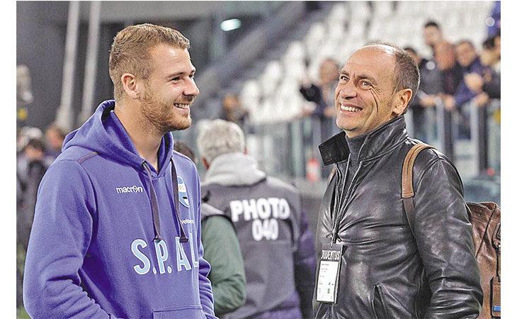 L'ex portiere di Torino e Lazio Luca Marchegiani e… l'Imolese: «Mio figlio para nel Gubbio ma non facciamo paragoni»