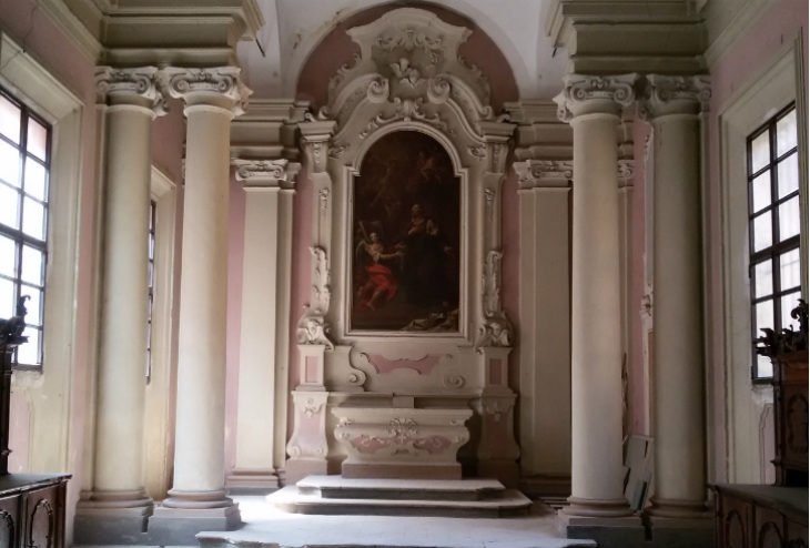 Medicina, parte dalla sagrestia l'opera di recupero dell'ex chiesa del Carmine che risale a fine Seicento