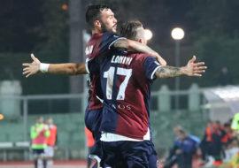 Imolese, prima vittoria in casa: il gol storico e importantissimo di Lanini stende il Gubbio