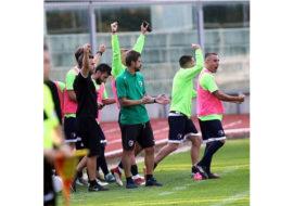 Calcio serie C, il tecnico Alessio Dionisi nel post partita di Imolese-Gubbio. IL VIDEO