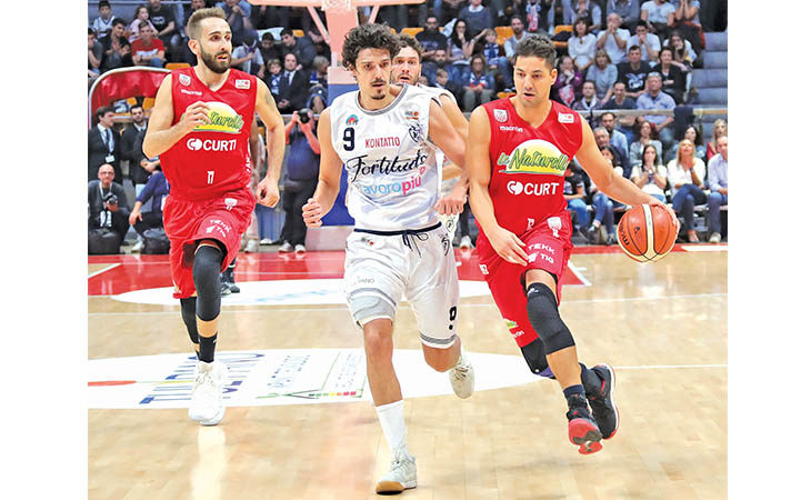Basket A2, lesione parziale del crociato anteriore per il capitano de Le Naturelle Patricio Prato