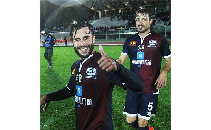 Calcio serie C, il tecnico Alessio Dionisi nel post partita di Imolese-Rimini. IL VIDEO