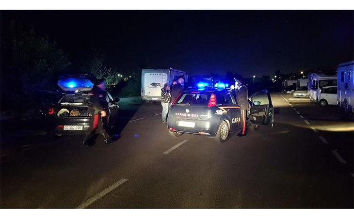 Controlli dei carabinieri sul territorio, inseguita una banda di malviventi a Dozza