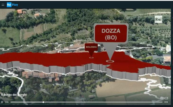 Il Borgo dei Borghi, Dozza in lizza: ecco come si vota. La trasmissione dal 3 novembre in prima serata su Rai 3