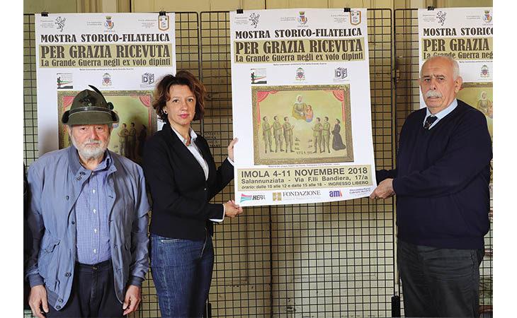 Un'esposizione storico-filatelica alla Salannunziata mostra la tragedia della Grande Guerra