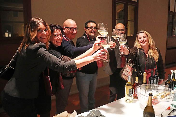 All'interno del Baccanale, il Banco d'assaggio porta cento vini in degustazione