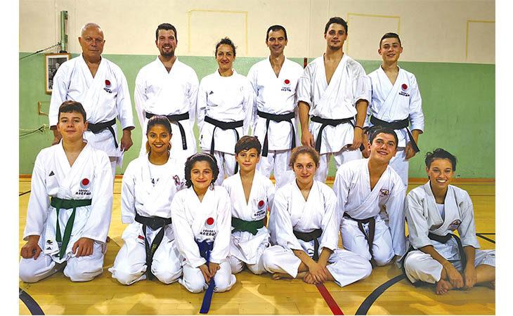 Karate, due titoli italiani per il Club Takeshi