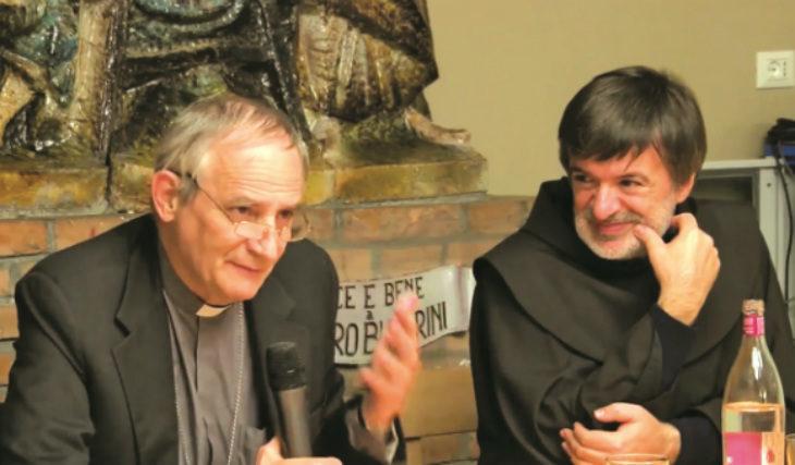 L'arcivescovo di Bologna Matteo Maria Zuppi lancia la Colletta di sabato 24 novembre promossa dal Banco Alimentare