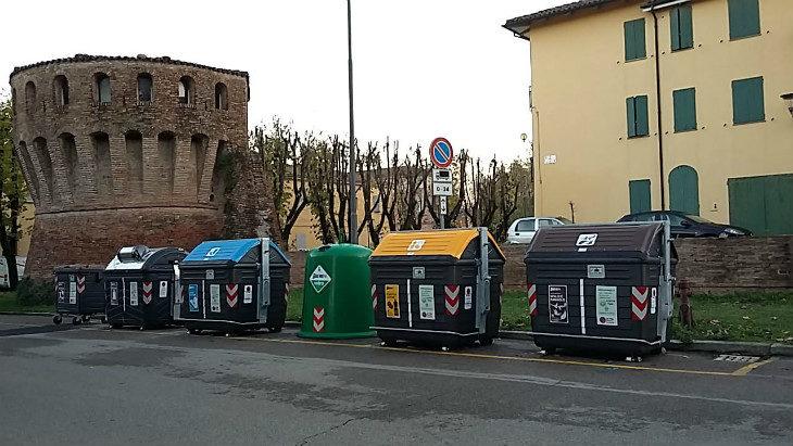 A Castel Guelfo la differenziata è salita all'88% grazie al nuovo sistema di raccolta rifiuti