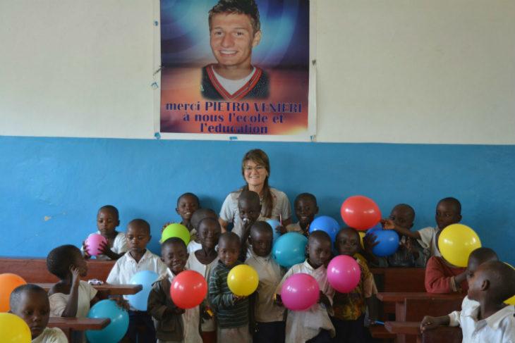 La Sacmi in Congo con il gruppo missioni Imola-Bukavu per sostenere il progetto «La scuola di Pietro»