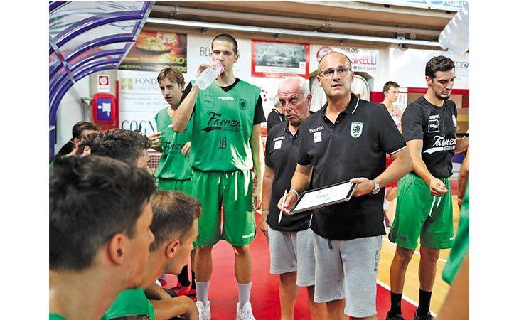 Basket serie B, coach Regazzi parla alla vigilia della sfida al palaCattani tra Faenza e Sinermatic Ozzano