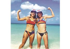 Beach tennis, la coppia regina Gasparri-Cimatti si presenta alla vigilia della nuova stagione