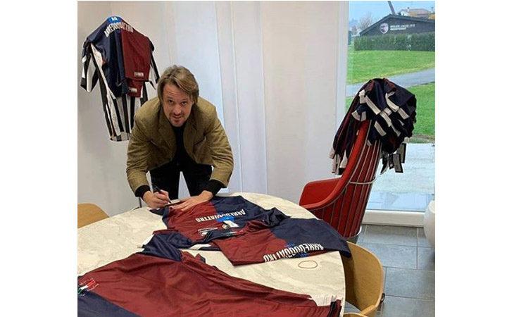 Calcio serie C, l'Imolese donerà la maglia del Centenario alla sindaca Sangiorgi