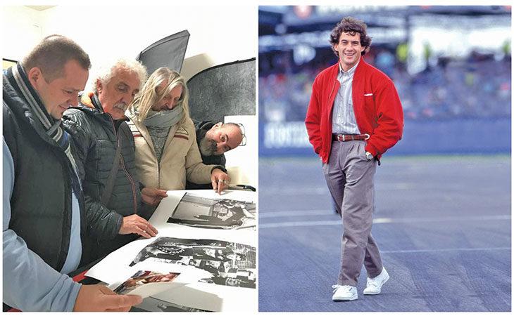 Ayrton Senna è «Simply the best», a Castello mostra con foto inedite di Angelo Orsi e Mirco Lazzari
