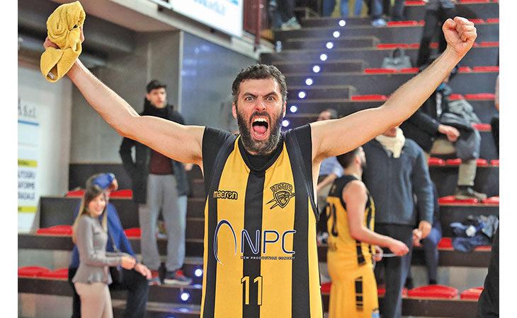 Basket C Gold, la Vsv riassapora la vittoria con un Casadei formato gigante