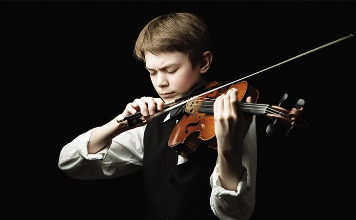 Il violino del giovane Edward Ted Walton risuonerà a palazzo Monsignani