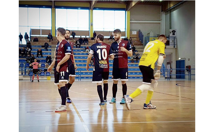 Futsal coppa serie B, la rimonta dell'Imolese Kaos vale le final-eight