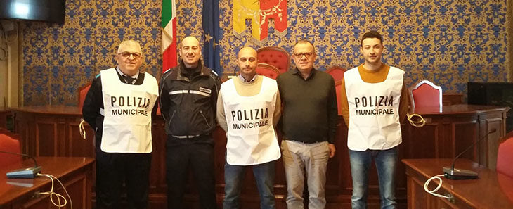 Tre nuovi agenti della municipale per Castel San Pietro