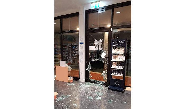 Furto con spaccata alla farmacia Ponte Rizzoli di Ozzano