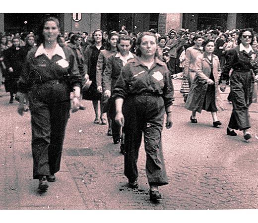 Lo sciopero delle donne alla Cogne
