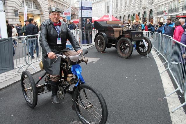 Da Londra a Brighton… Su un triciclo del 1900