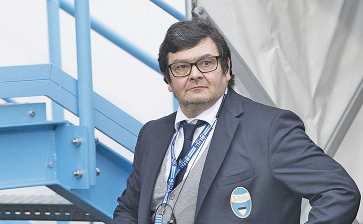 Stefano Salis, segretario generale della Spal, un imolese in serie A
