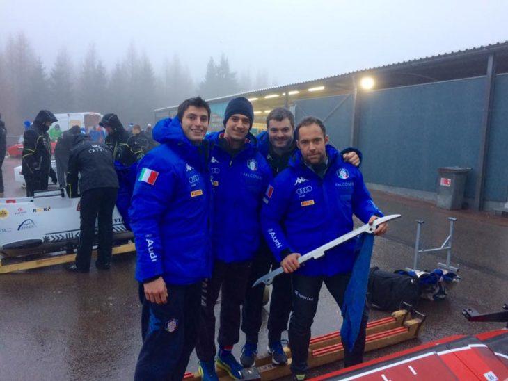 Lorenzo Bilotti alle Olimpiadi invernali in Corea, il velocista gareggerà nel bob a 4