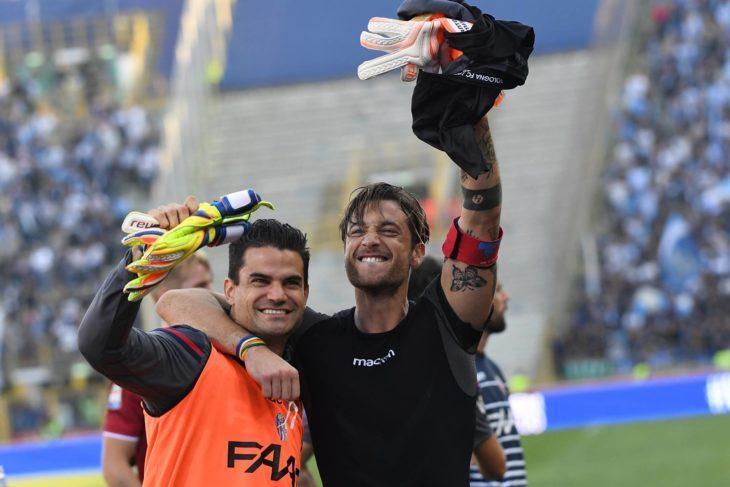 Mirante, Da Costa, Santurro e Ravaglia, una sera con i portieri del Bologna Fc all'Outlet